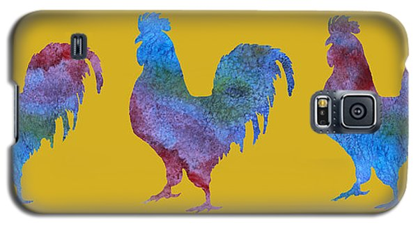 Three Roosters Galaxy S5 Case