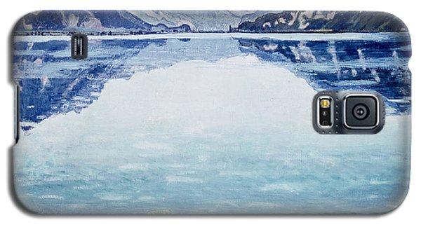 Mountain Galaxy S5 Case - Thunersee Von Leissigen by Ferdinand Hodler