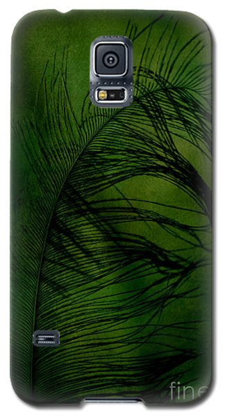 Galaxy S5 Case featuring the photograph Tickled Green by Robin Dickinson