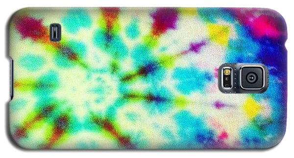 Cool Galaxy S5 Case - Tiedye by Katie Williams