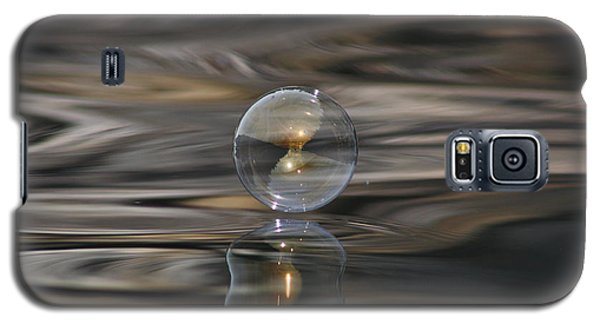 Tiger Water Bubble Galaxy S5 Case by Cathie Douglas