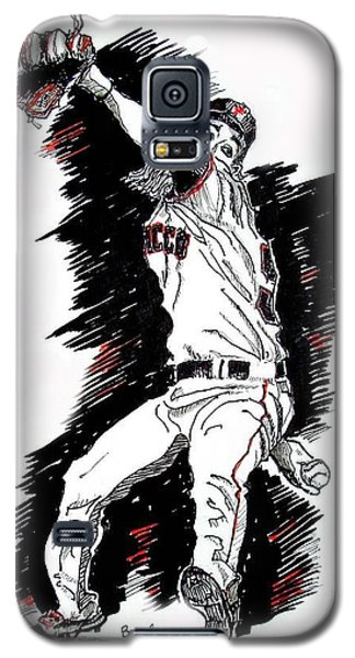 Tim Lincecum Galaxy S5 Case by Terry Banderas