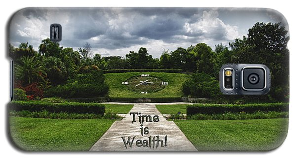 Time Is Wealth Galaxy S5 Case by Barbara Middleton