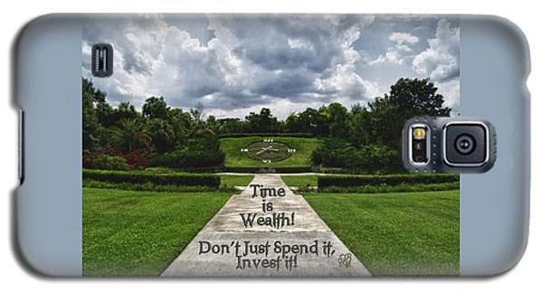 Time Is Wealth Galaxy S5 Case