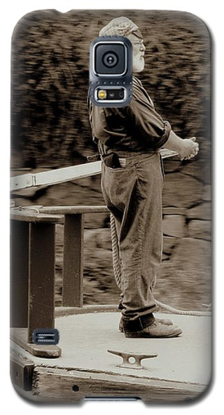 Galaxy S5 Case featuring the photograph Timeless Serenity by Suzanne Stout