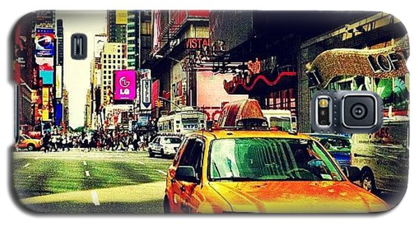 Times Square Taxi Galaxy S5 Case