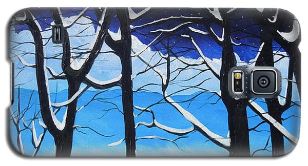 Galaxy S5 Case featuring the painting Tis The Season by Dan Whittemore