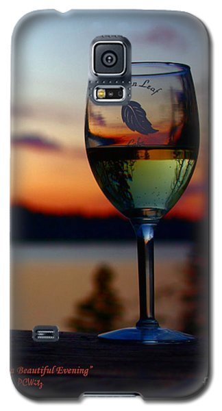 Toasting A Beautiful Evening Galaxy S5 Case