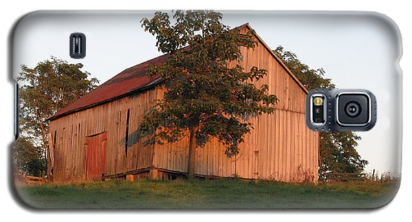Tobacco Barn II In Color Galaxy S5 Case by JD Grimes
