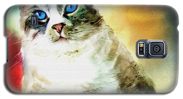 Toby The Cat Galaxy S5 Case