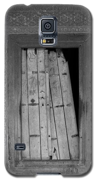 Galaxy S5 Case featuring the photograph Tomb Door by David Pantuso