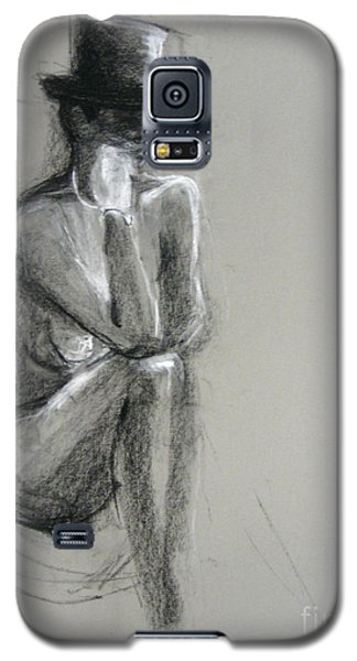 Galaxy S5 Case featuring the drawing Top by Gabrielle Wilson-Sealy