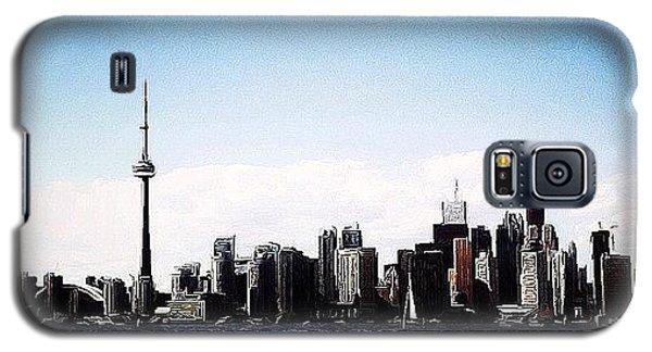 Toronto Skyline Galaxy S5 Case