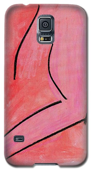 Galaxy S5 Case featuring the painting Torso by Patrick Morgan