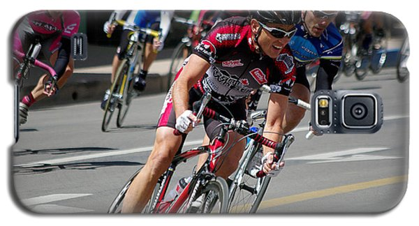 Galaxy S5 Case featuring the photograph Tour Of The Gila - Criterium  by Vicki Pelham