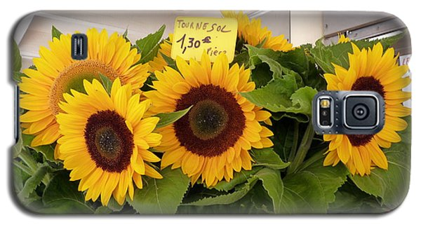Galaxy S5 Case featuring the photograph Tournesol by Carla Parris