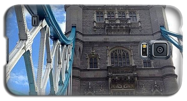 London2012 Galaxy S5 Case - Tower Bridge #towerbridge #london by Luke Cameron