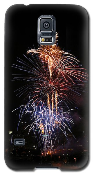Tower Of Fire Power Galaxy S5 Case by Heidi Hermes