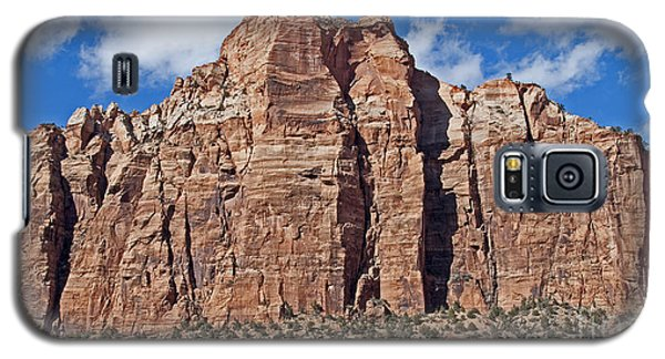Galaxy S5 Case featuring the photograph Towering Cliffs by Bob and Nancy Kendrick