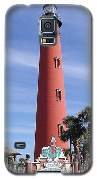 Towering Lighthouse Galaxy S5 Case by Barbara Middleton