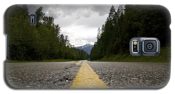 Trans Canada Highway Galaxy S5 Case by JM Photography