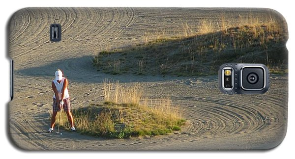 Galaxy S5 Case featuring the photograph Trap - Chambers Bay Golf Course by Chris Anderson