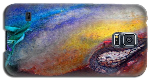 Galaxy S5 Case featuring the digital art Travel by Richard Laeton