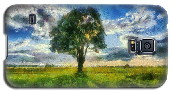 Galaxy S5 Case featuring the painting Tree Of Life by Joe Misrasi