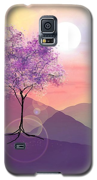 Tree On A Hill Galaxy S5 Case