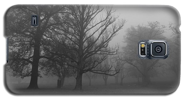 Galaxy S5 Case featuring the photograph Trees And Fog by Maj Seda