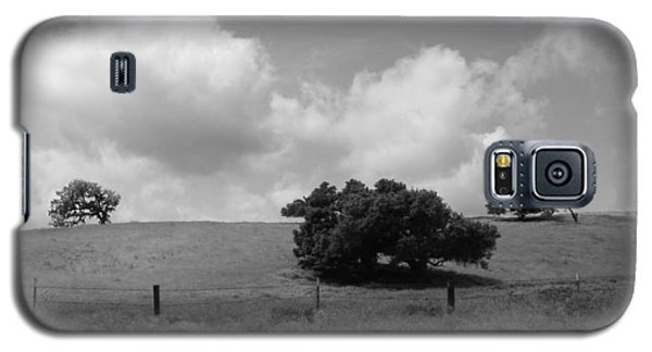 Galaxy S5 Case featuring the photograph Trees On The Hillrise by Kathleen Grace