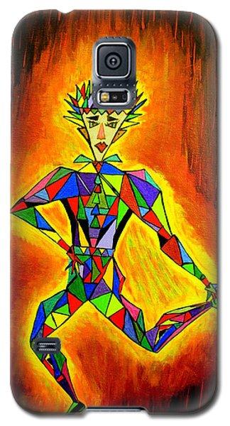 Triangle Man Galaxy S5 Case
