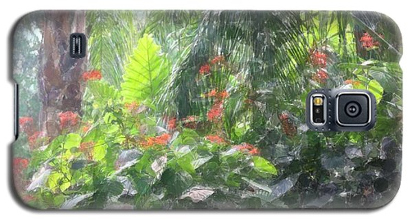 Galaxy S5 Case featuring the photograph Tropical Paradise by Donna  Smith