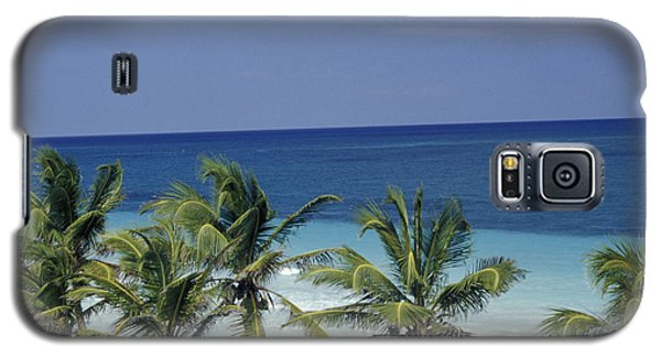 Galaxy S5 Case featuring the photograph Tropical Paradise Sian Kaan Mexico by John  Mitchell