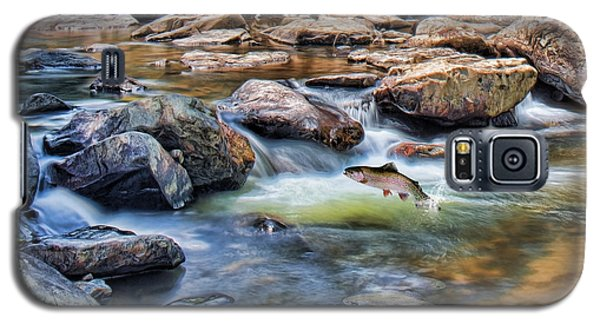 Trout Stream Galaxy S5 Case by Mary Almond