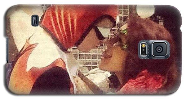 Superhero Galaxy S5 Case - True Villain Love by Rachael Sansing
