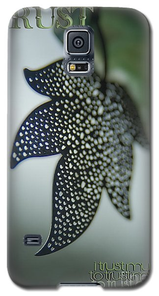 Galaxy S5 Case featuring the photograph Trust To Trust by Vicki Ferrari Photography