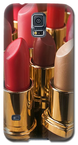 Tubes Of Lipstick Galaxy S5 Case by Garry Gay