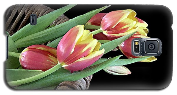 Tulips From The Garden Galaxy S5 Case by Sherry Hallemeier
