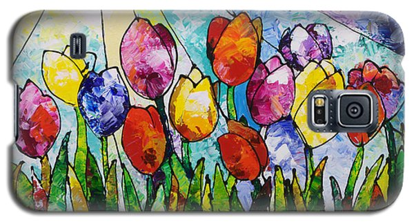 Tulips On Parade Galaxy S5 Case