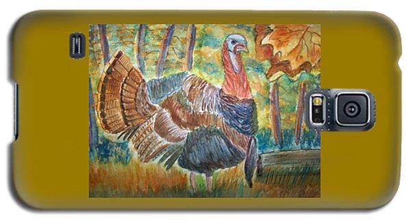 Turkey In Fall Galaxy S5 Case