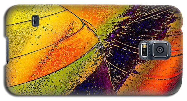 Galaxy S5 Case featuring the photograph Turning Purple  by David Pantuso