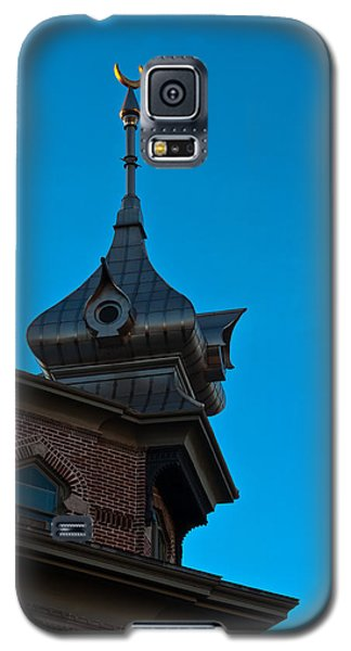 Galaxy S5 Case featuring the photograph Turret At Tampa Bay Hotel by Ed Gleichman