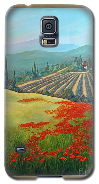 Tuscan Vista Galaxy S5 Case by Phyllis Howard