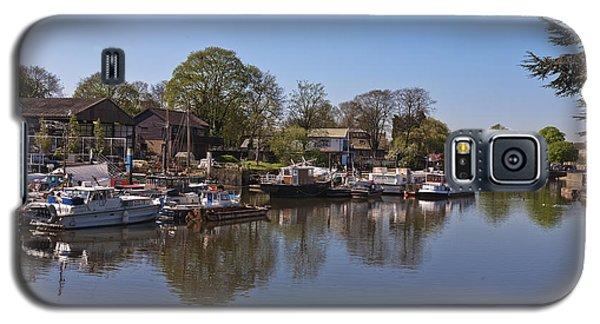 Galaxy S5 Case featuring the photograph Twickenham Marina by Maj Seda