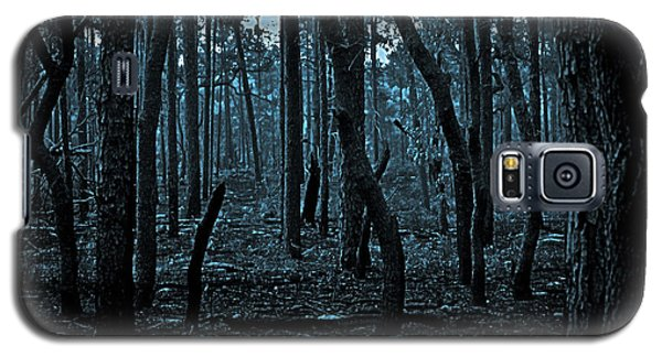 Galaxy S5 Case featuring the photograph Twilight In The Smouldering Forest by DigiArt Diaries by Vicky B Fuller