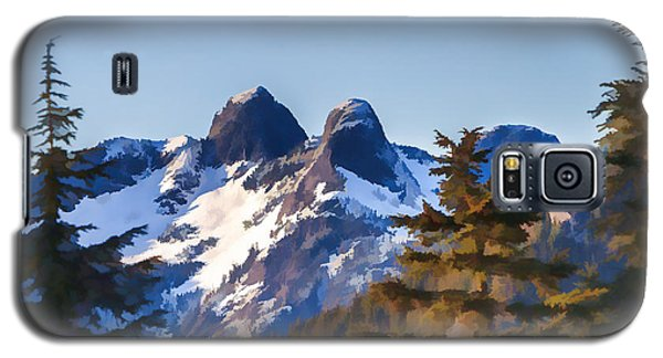 Twin Peaks Painting Galaxy S5 Case