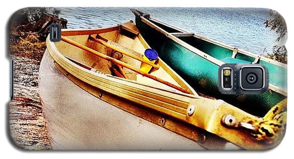 Instahub Galaxy S5 Case - Two Canoes by Christopher Campbell