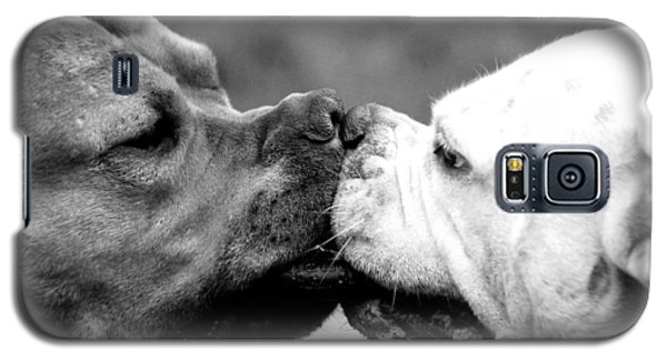 Two Dogs Kissing Galaxy S5 Case