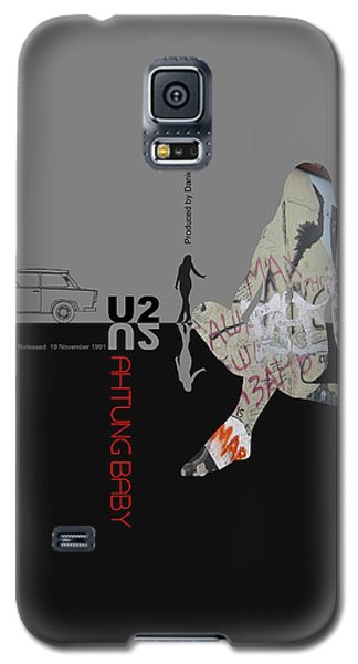 U2 Poster Galaxy S5 Case by Naxart Studio